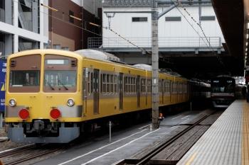2020年7月5日 14時過ぎ。所沢。多摩川線から輸送中の1249F(左)と、メトロ10019Fの6573レ。