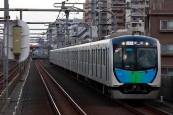 2020年7月12日。富士見台。40102Fの飯能ゆきS-Train 403レ。