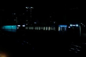 2020年7月15日。石神井公園。4番ホームを通過する40101Fの上り回送列車。