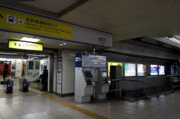 2020年7月16日 6時半ころ。近鉄名古屋。小さな乗り換え改札口を挟んで名鉄名古屋駅とはお隣さんの関係。
