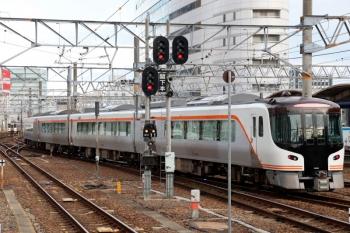 2020年7月16日 17時50分ころ。名古屋。HC85系はすぐに折り返し。名古屋車両区へ入庫したのだと思ってます。