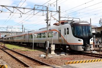 2020年7月16日 9時32分ころ。富田。HC85系4連の下り試運転列車が発車。