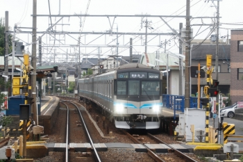 2020年7月17日 8時56分ころ。犬山寺?。名古屋市交通局N3000形・N3109ほかの赤池ゆき普通。
