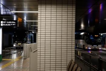 2020年7月18日 5時20分ころ。横浜。そごう1階のバスターミナル。
