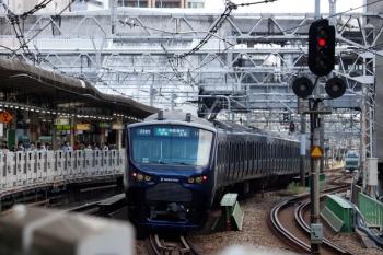 2020年8月2日 12時13分ころ。五反田。相鉄12000系の海老名ゆき233M列車。