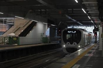 2020年8月11日。所沢。3番ホームへ到着する38113Fの5204レ。