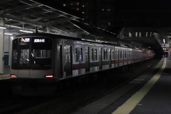 2020年8月14日。西所沢。東急 4104Fの武蔵小杉ゆき各停 6812レ(54K)。