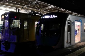 2020年8月14日。西所沢。2465F+2079Fの2192レ(左)と40105FのS-Train小手指ゆき507レ。