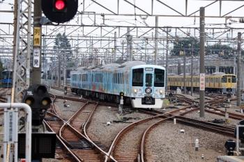 2020年8月18日 11時43分ころ。上石神井。通過する4009F(52席)の下り列車。