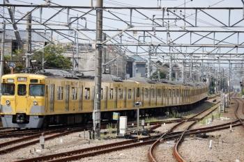 2020年8月18日 10時27分ころ。田無。2403F+2059Fの下り回送列車。