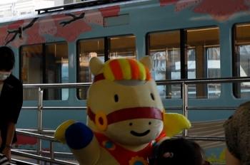 2020年8月18日。豊島園。4009Fの前面で乗客と記念撮影してた「エルちゃん」がお帰りでした。