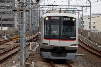 2020年8月23日。練馬。東急4106Fが代走の6802レ(26M運用)。