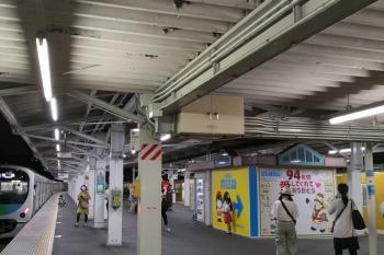 2020年8月31日。豊島園。2番ホームから38107Fの5520レが発車。