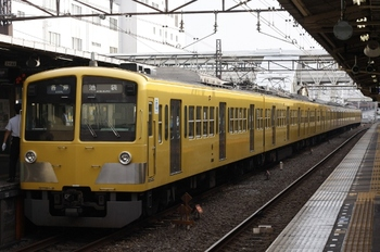 2009年7月13日、所沢、1303Fの5208レ。