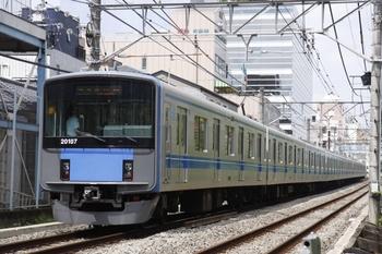 2009年7月25日、高田馬場~下落合、20107Fの4607レ。