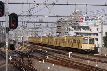 2009年10月4日、7時40分頃、1243F+1241Fの上り回送列車。