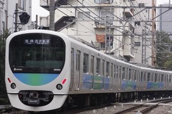 2009年10月22日、高田馬場~下落合、5614レの38102F。