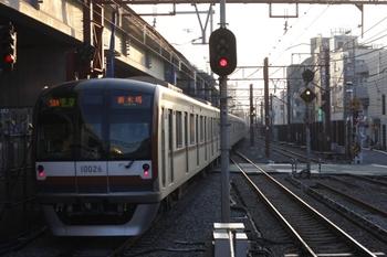 2009年12月10日、石神井公園、メトロ10026Fの4502レ。