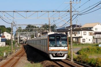 2020年9月5日。元加治。メトロ10004Fが代走した16M運用の3402レ。