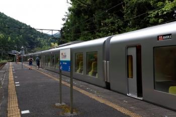 2020年9月5日 8時35分ころ。西吾野。乗降を終え発車する001-F編成の5レ。
