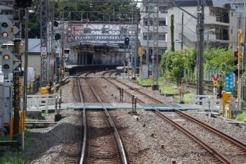 2020年9月6日 12時半ころ。高田馬場〜下落合駅間。下り列車の車内から。