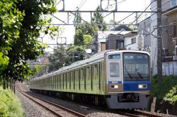2020年9月8日。東伏見〜武蔵関。6101Fの田無ゆき準急4101レ。
