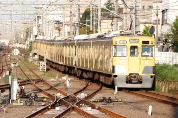 2020年9月8日 5時57分ころ。田無。2401F+2061Fの上り回送列車が1番ホームを通過しました。
