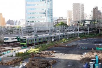 2020年9月10日。品川。JR横須賀線の185系の「湘南ライナー2号」3722M到着が見られました。