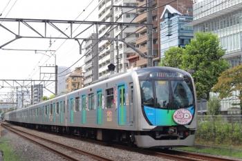2020年9月15日。高田馬場〜下落合。40152F(カナヘイ)の2642レ。120レの直前の列車ですが、定時です。