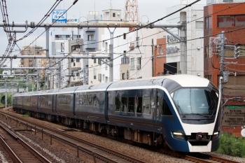 2020年9月19日 12時7分ころ。駒込。サフィール踊り子・E261系の回送列車。