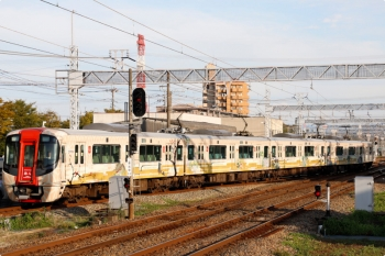 2020年9月21日 17時0分ころ。筑紫。福岡方から回送で到着した「旅人」の3000形が入庫しました。
