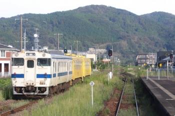 2020年9月22日。山本。キハ47形+キハ125形2両の唐津線5825D。
