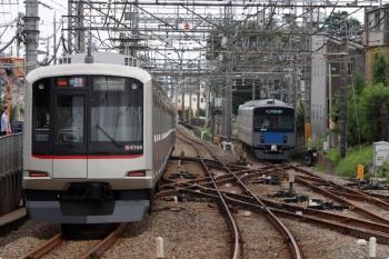 2020年9月27日。西所沢。西武球場前駅〜西所沢〜小手指と送られた東急4104Fは、小手指から54Kの通常の運用へ戻り1812レを担当。