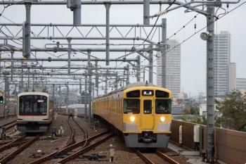 2020年9月27日。石神井公園。寝ていた場所はいつもと違いましたが2091Fはいつものパターンで東長崎へ回送されてました。