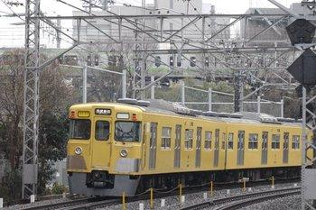 2010年2月12日、高田馬場~下落合、2011F+2533Fの2754レ。