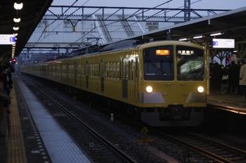 2010年2月12日、所沢、1311F+281Fの2610レ。
