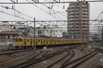 2010年3月15日 7時3分頃、東村山、本川越方から到着する2019Fの上り回送列車。