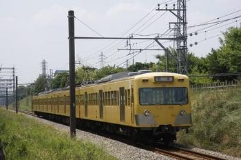 2010年6月12日 11時2分頃、新小金井~多磨、1221Fの下り回送列車。