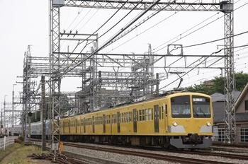2010年6月13日、所沢~西所沢、263F+38108Fの下り回送列車。