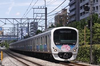 2010年7月18日、高田馬場~下落合、38102Fの3302レ。