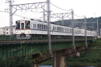 2010年7月18日 18時22分頃、仏子~元加治、4009F+4003Fの下り回送。