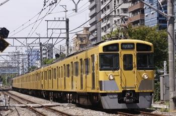 2010年8月29日、高田馬場~下落合、2455F+2045Fの5016レ。