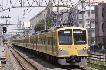 2010年8月29日 12時5分頃、新狭山、295F+1239F+1245Fの上り回送列車。