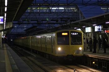 2010年11月4日、所沢、281F+1301Fの2604レ。
