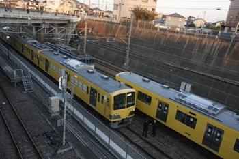 2010年11月6日 16時15分頃、新秋津、側線に集うEF65-1088・263F・2079F。