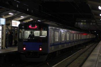 2010年11月19日 19時51分頃、所沢、20154Fの新宿線・下り回送列車。
