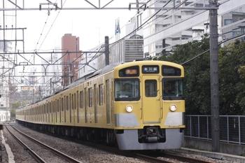 2010年11月21日、高田馬場~下落合、2051F+2511Fの2637レ。