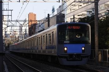 2010年12月3日 15時19分頃、高田馬場~下落合、20154Fの急行 西武秩父ゆき。
