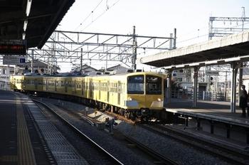 2010年12月5日、西所沢、到着する1241Fの6146レ。