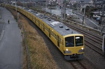 2010年12月13日 7時45分頃、所沢~新秋津、263F+2091Fの回送列車。